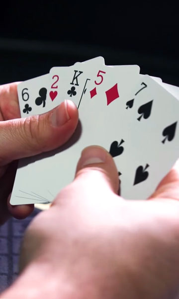 Lowball cards in Casino