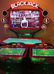Blackjack with virtual reality
